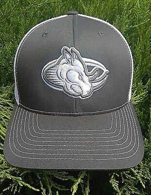 ANGRY RHINO OUTDOORS 3D Logo Richardson Trucker Mesh Snapback 112 Baseball Hat