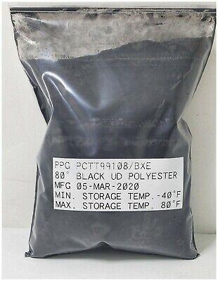 Black Smooth Powder Coat Paint Ppg-envirocron New 1lb