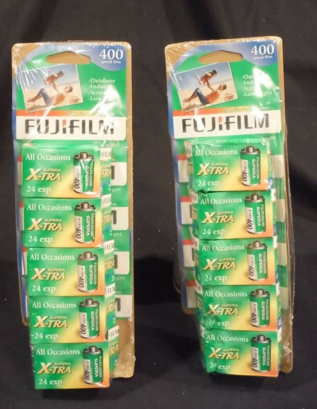 10 ROLLS Fujifilm Superia XTRA 400 Film New Exp 2/19