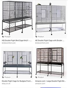 DOUBLE FLIGHT CAGE (NEW)
