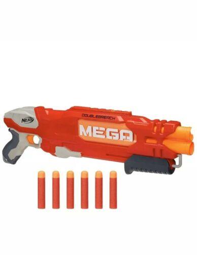 Hasbro NERF DoubleBreach Shotgun N-Strike Mega Dart Gun Kids