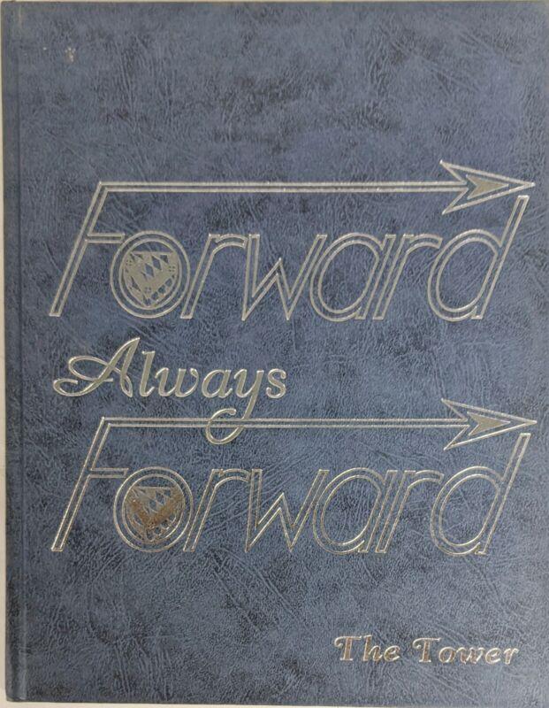 1995 Always Forward Saint Vincent College Pennsylvania Yearbook Latrobe Tower95