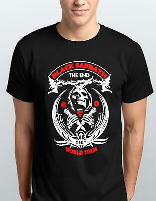 Black Sabbath The End World Tour Men's Black T SHIRT ADULT/KIDS S-3xl TEE