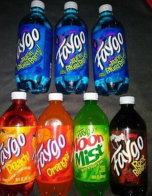Faygo Soda Pop Drink 20oz 7ct. Variety ICP Halloween Fall Special Christmas Than