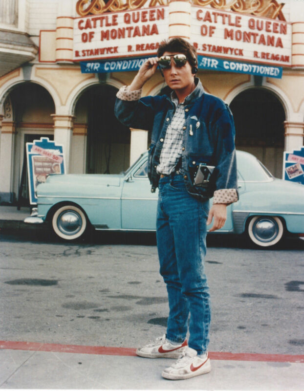 Back To The Future 2 Michael J Fox  8x10 Photo Print