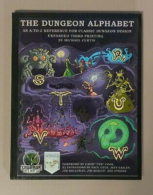 The Dungeon Alphabet 2012, Tercera Edición, Tapa dura, Goodman Ganes