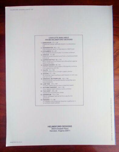 COPPER KETTLE Cross Stitch Pattern By Susan Stafford Helming VINTAGE 1981  - $6.99