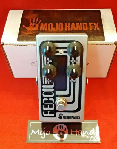 Mojo Hand FX Recoil Delay Pedal. Sounds Great, Well Made, Very Clean, Smoke Free