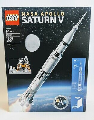 LEGO 21309 Ideas NASA Apollo Saturn V Rocket - RETIRED - BRAND NEW SEALED