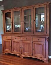 Solid timber wall unit good condition Karalee Ipswich City Preview