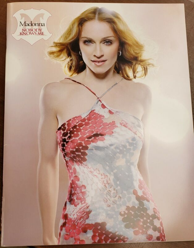 Madonna Fan Club Exclusive Photography book... RARE!!