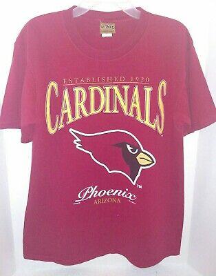 Vintage 1996 Nutmeg Mills Phoenix Arizona Cardinals Large distressed (Arizona Mills Phoenix)
