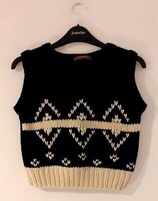 Vintage PRADA Wool Gilet S/M