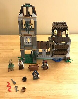 LEGO 4183 Pirates of the Caribbean The Mill (2011) - 99% Complete!