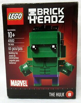 Lego Brickheadz Marvel The Hulk 41592 Set New Sealed