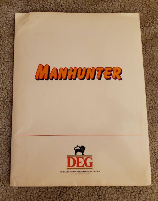 "1986 ""MANHUNTER"" William Petersen MOVIE PRESS KIT With (6) Photo"