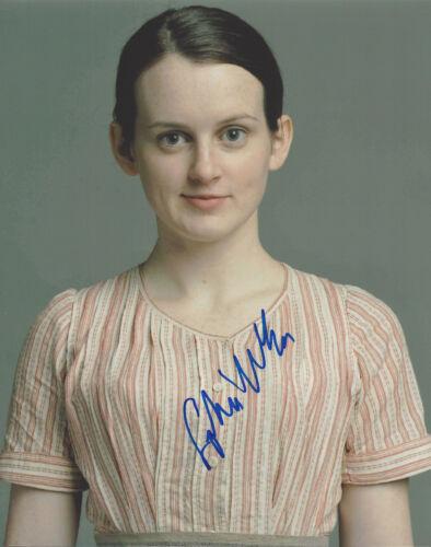SOPHIE MCSHERA SIGNED 'DOWNTON ABBEY' DAISY MASON 8X10 PHOTO w/COA ACTRESS
