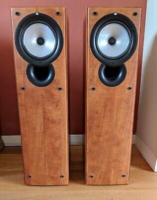 Kef Q35.2 Floorstanding Loudspeaker Cherry Wood Made in Belgium 100W 6Ohms