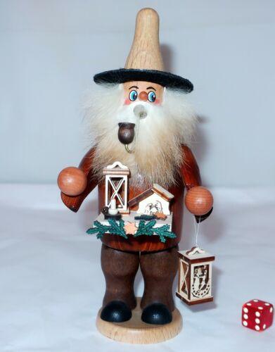 CHRISTMAS PEDDLER INCENSE SMOKER Handcrafted Wood Erzgebirge Germany Nativity #2