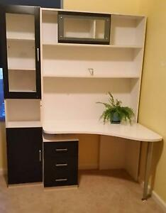 Youth Bedroom desk,hutch,display cabinet,bedside table Geelong Geelong City Preview
