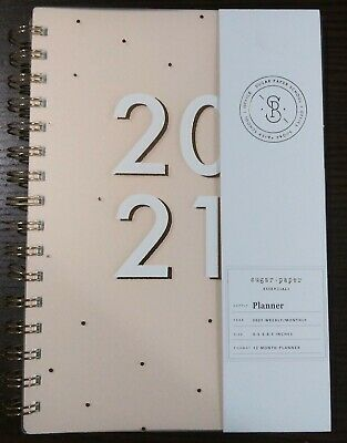 Skyscraper Essentials 2021 Weekly And Monthly Planner Pink
