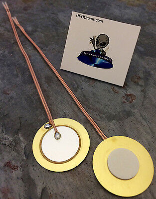 35mm Ceramic Piezo Sensor Trigger Drum Conversion DIY