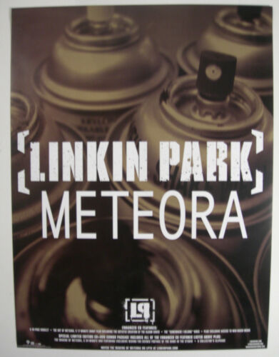 LINKIN PARK METEORA PROMO POSTER 2003