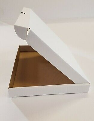 50 x WHITE C5 A5 SIZE BOX LARGE LETTER STRONG CARDBOARD SHIPPING MAILING POSTAL