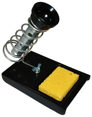 Soldering Iron Holder Stand With Tip Cleaning Sponge