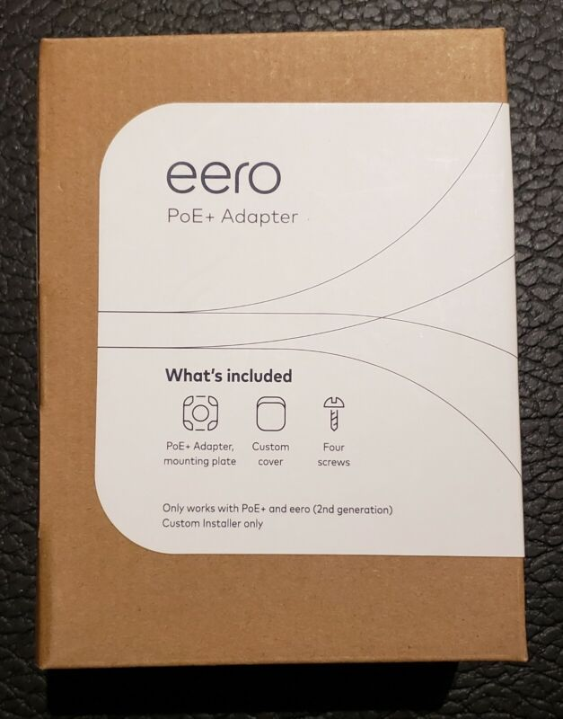 Eero PoE Adapter & Mounting Enclosure - Available NOW!!!!