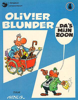 OLIVIER BLUNDER 04 - DA'S MIJN ZOON - Greg