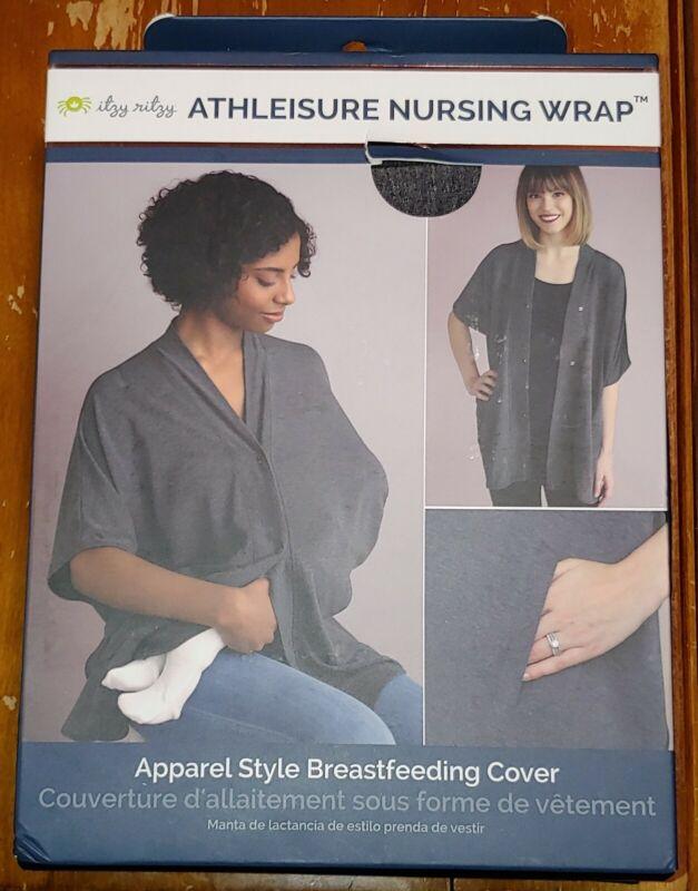NEW IN BOX Itzy Ritzy Athleisure Nursing Wrap Apparel Style Breastfeeding Cover