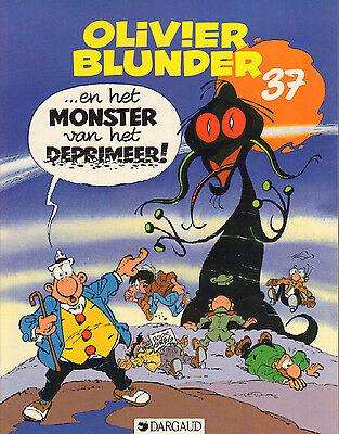 OLIVIER BLUNDER 37 - ...EN HET MONSTER VAN HET DEPRIMEER - Greg