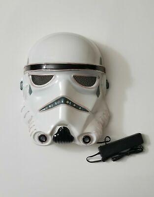 Star Wars Mask (Storm Trooper Star Wars LED Light Up Mask Costume Cosplay Halloween Rave)
