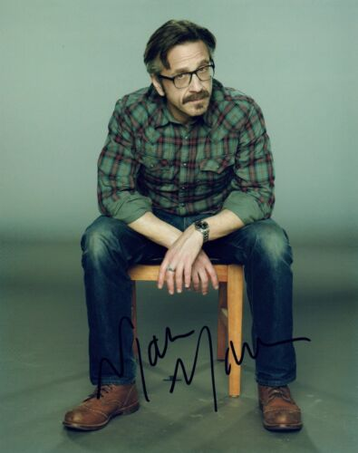Marc Maron Signed Autographed 8x10 Photo GLOW & MARON Actor Comedian COA