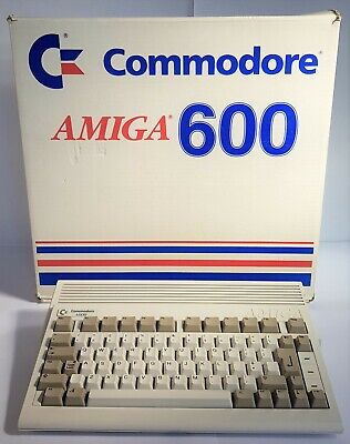 Commodore AMIGA A600 Computer Original Packaging. Mint. Collectible. Vintage PC