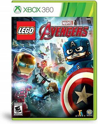 LEGO Marvel's Avengers (Microsoft Xbox 360) NEW & SEALED