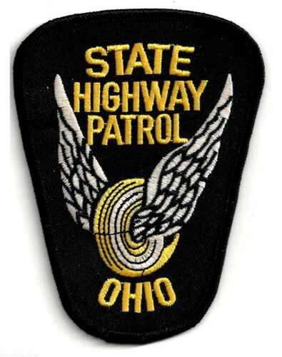 OHIO STATE HIGHWAY PATROL - SHOULDER PATCH - IRON OR SEW-ON PATCH