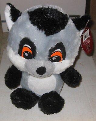 "11""  Tailed Lemur Plush Stuffed Animal Toy - New"