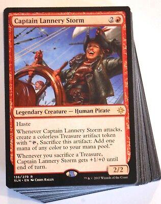 ***Custom Red Pirate Deck*** Lannery Storm Brawl Standard Modern Magic - Pirate Customs