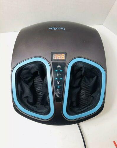 Invospa Shiatsu Foot Massager Machine  Electric Deep Kneadin