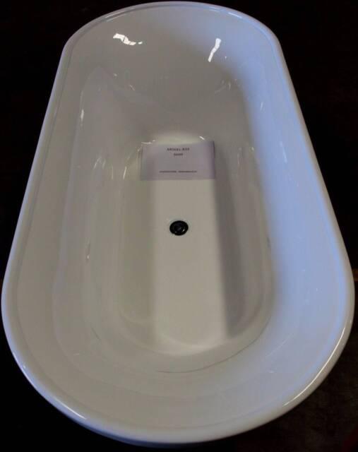 traditional bath tub free standing 1.8x0.8x0.61m model 833