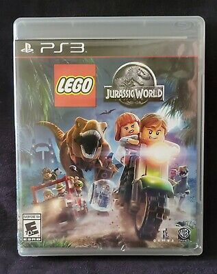 LEGO Jurassic World (Sony PlayStation 3, 2015 PS3) Complete, Clean, Free S&H