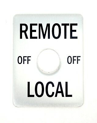 Lincoln Sa-200 Remote Switch Plate Bw306