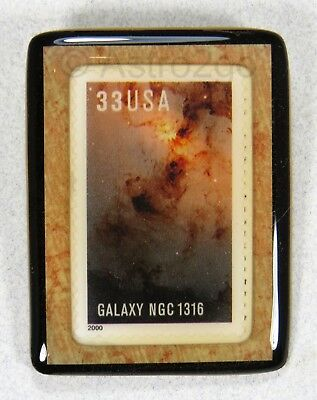 ART STUFF-Stamp Pins-GALAXY NGC 1316 Fornax A Cluster Radio HST Space Astronomy , used for sale  Philadelphia