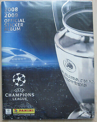 PANINI - Champions League 2008/2009 *** KOMPLETTES SAMMELALBUM ***