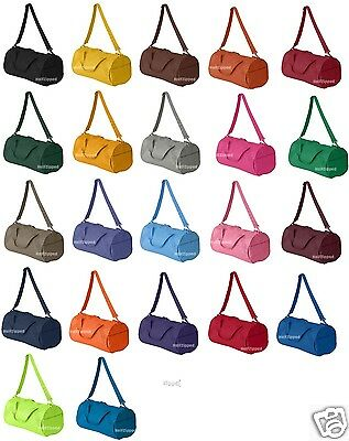 Small Gym Bags (Liberty Bags Recycled Small Duffle Gym Bag 8805 NEW 12)