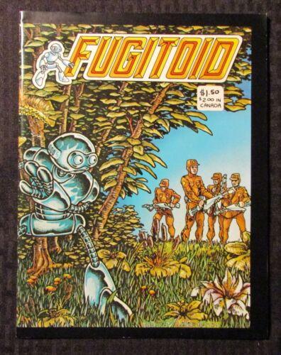 1985 FUGITOID #1 FN- 5.5 Kevin Eastman & Peter Laird - Mirage Studios