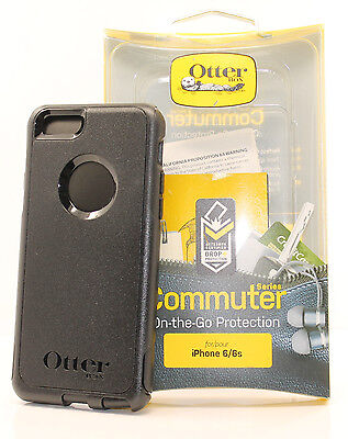 Otterbox Commuter 2 Layers Hard Case Snap Cover For Iphone 6   Iphone 6S  Black