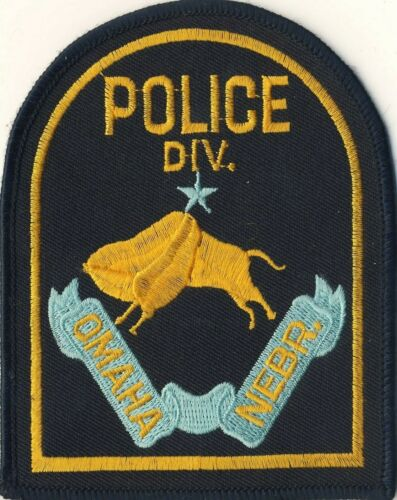 "Omaha Nebraska NE Police 4.5"" Cloth Patch"